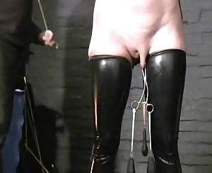 Sensory deprived slaveslut Cherry Torns leather fetish and extreme Domination & submission of ameri