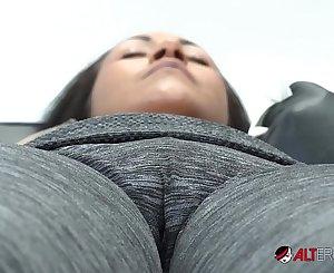 Latina Slut Sindy Ink Horny Tattoo Session