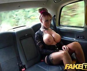 Fake Taxi Sexy busty tattooed Milf stripper wants big black shaft