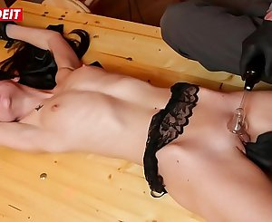 LETSDOEIT - Brunette Teen Cums Multiple Times in Kinky BDSM Domination (Lullu Gun)