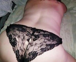 Sexy BBW in soaking wet panties