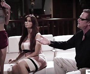Parents and stepdaughter sex porn