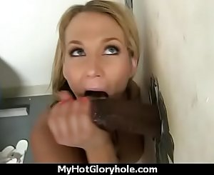 black girl have surprise gloryhole 28