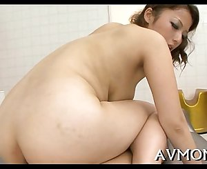 Concupiscent mom caressed and fucked
