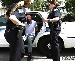 Milf strip dance Don't be ebony and suspicious around Black Patrol